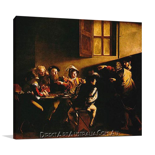 The Calling of Saint Matthew Paintings