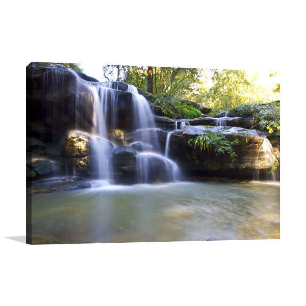 Carlingford Art Print Balaka Falls