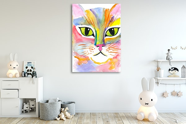 Cat Fairy Print Artwork