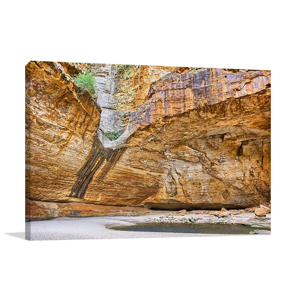 Cathedral Gorge Australia Wall Canvas Print