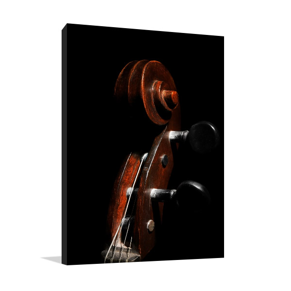 Cello Closeup Wall Art