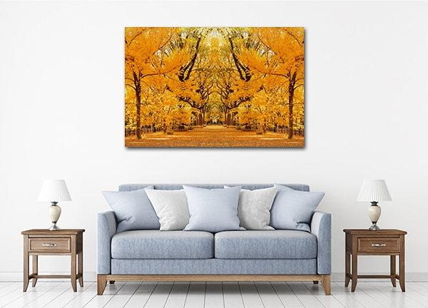 Central Park Autumn Print Artwork