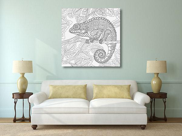 Chameleon Design Artwork