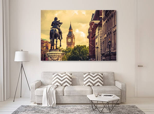 Charles Statue Wall Art