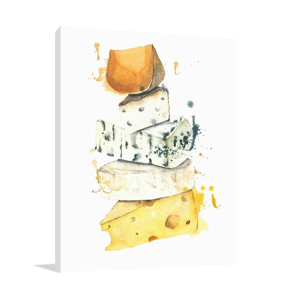 Cheese Stack Print Artwork