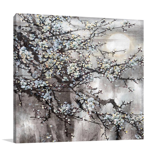 Cherry Blossoms Wall Art Print