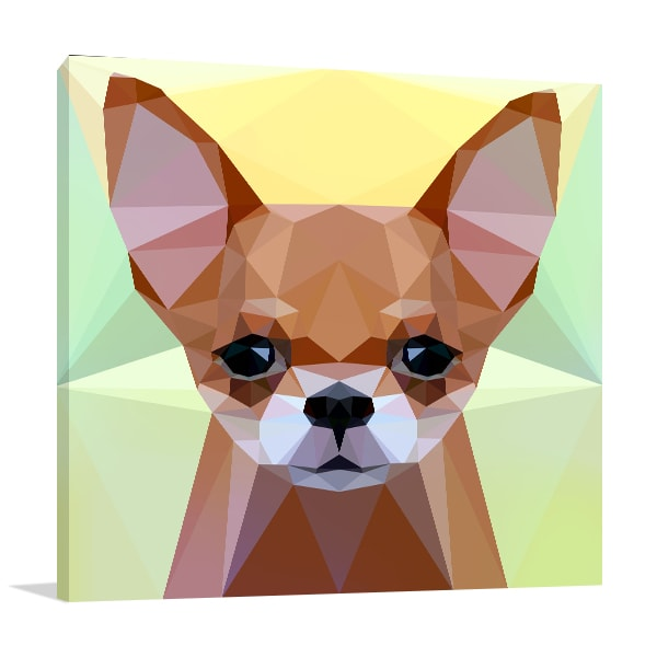 Chihuahua Dog Art Prints