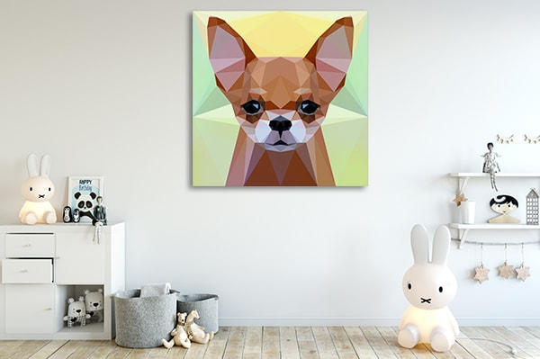 Chihuahua Dog Print Artwork