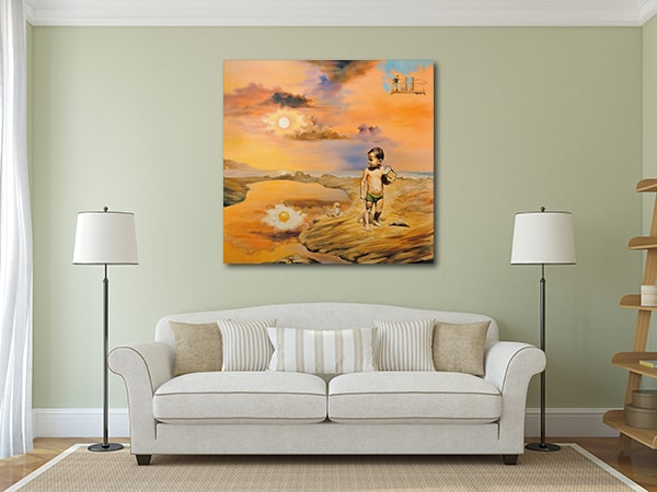 Children's Day Art Print on the Wall