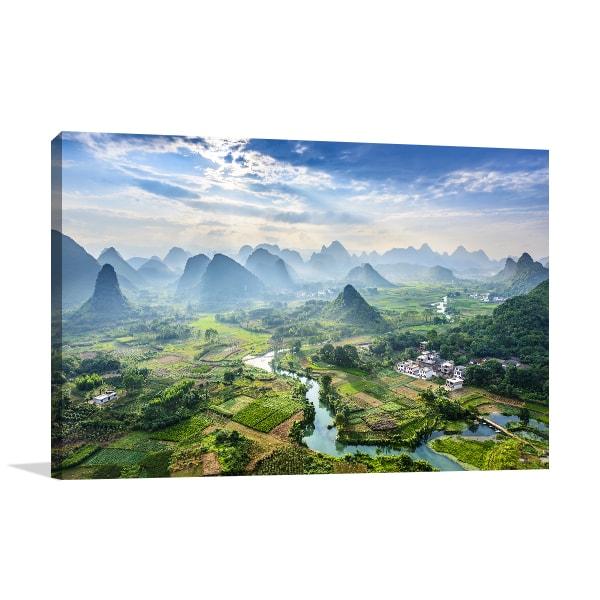 China Province Art Prints