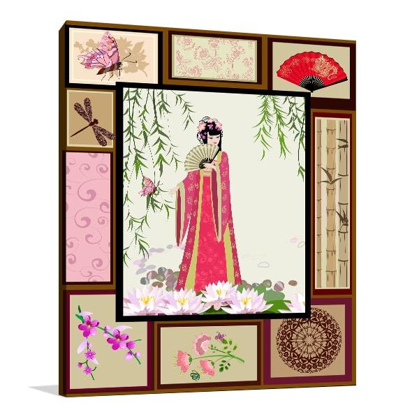 Chinese Beauty Art Prints