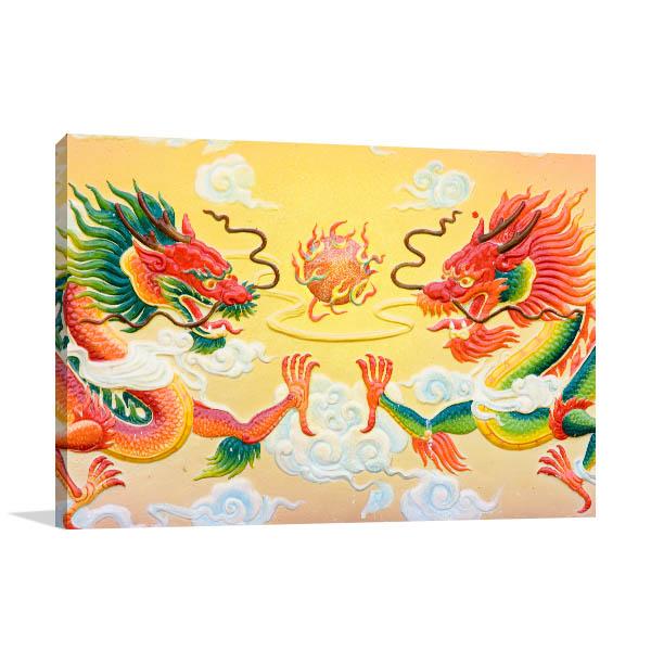 Chinese Dragon Wall Art