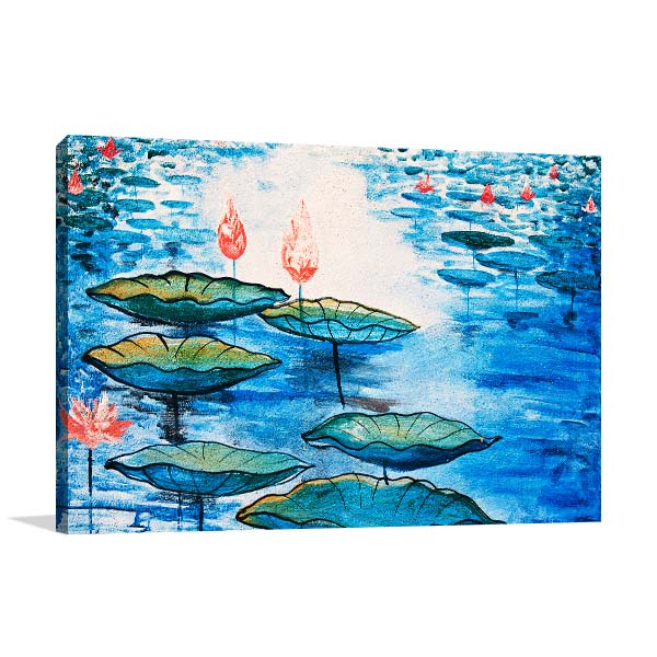 Chinese Flower Canvas Art