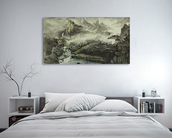 Chinese Mountains Artwork