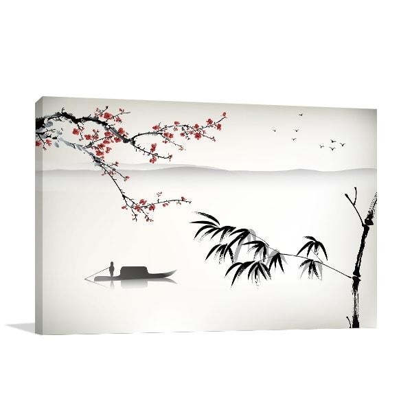 Chinese River Art Prints