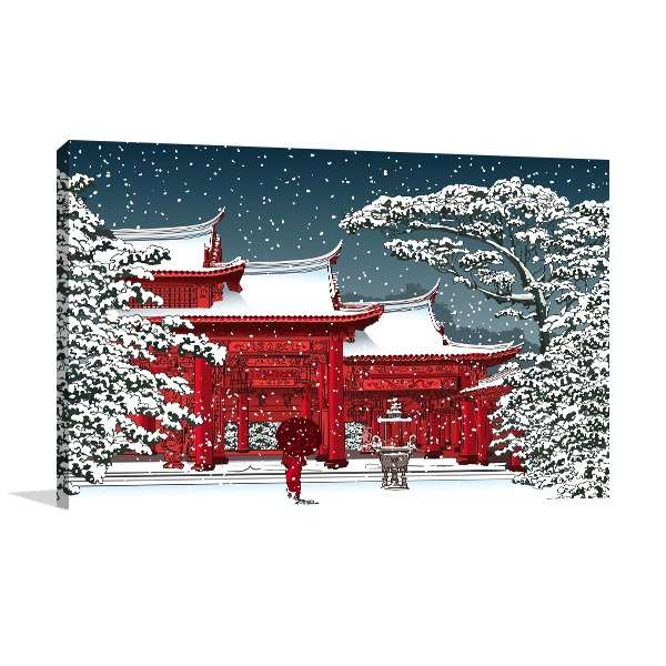 Chinese Temple Canvas Art Prints