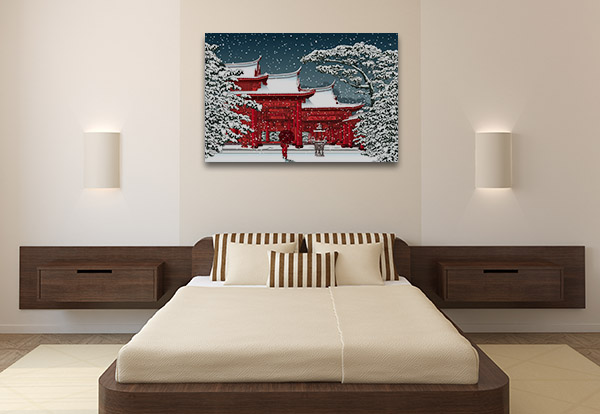 Chinese Temple Canvas Prints