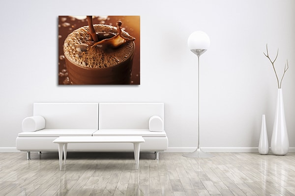 Chocolate Drink Prints Canvas