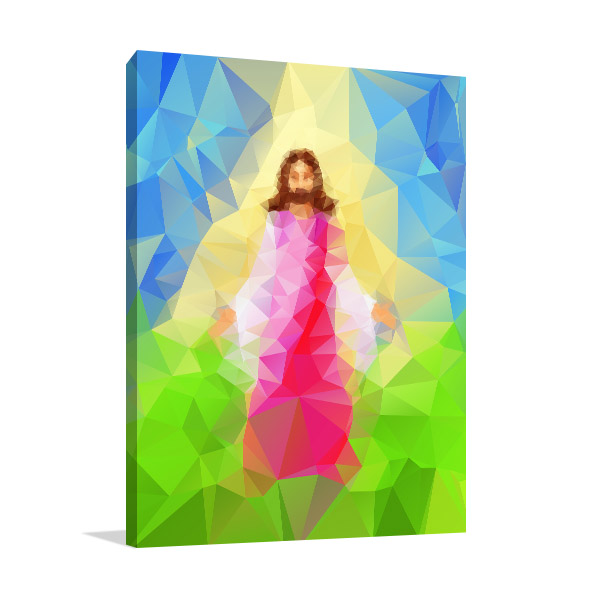 Christ Vector Wall Art