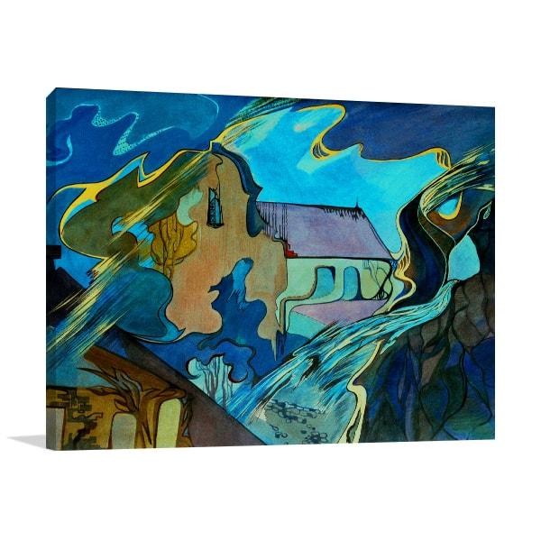 Chrurch Abstract Artwork
