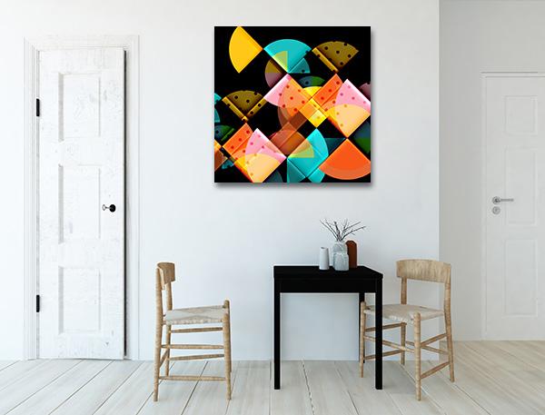 Circle Elements Canvas Art Prints