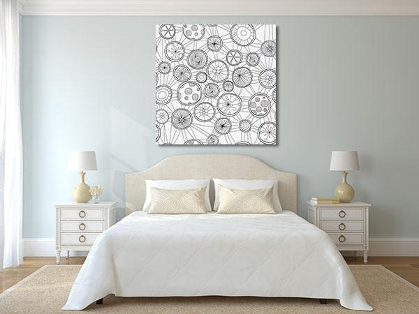 Circle Pattern Canvas Prints