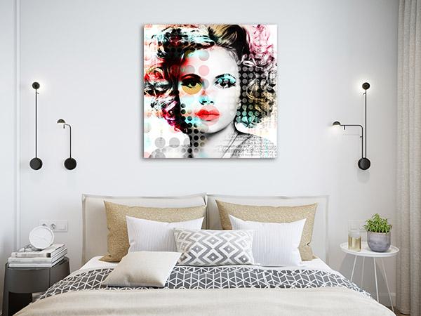 Circles Desire Canvas Art Prints