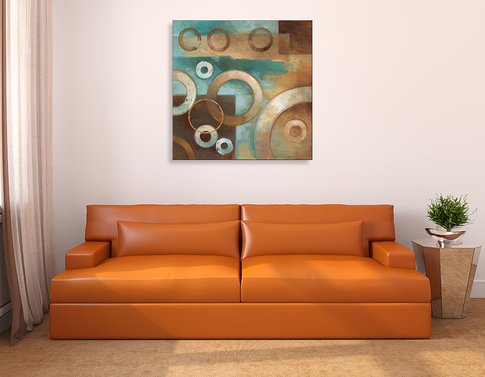 Neutral Tones Abstract Artwork