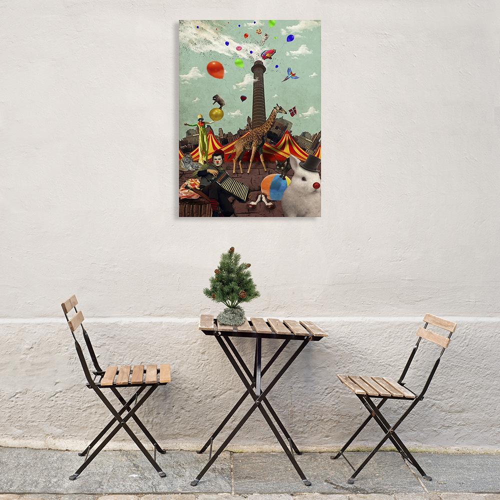 Living Room Portrait Wall Print