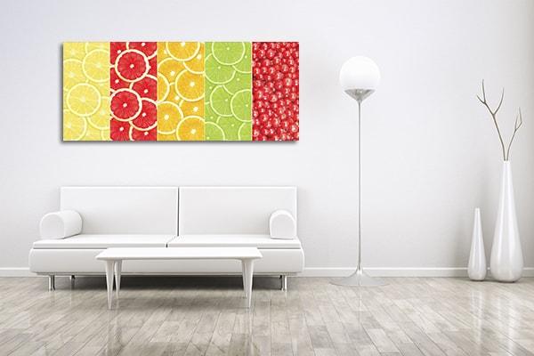 Citrus Collage Canvas Prints