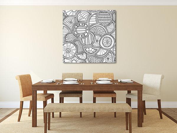 Citrus Pattern Artwork