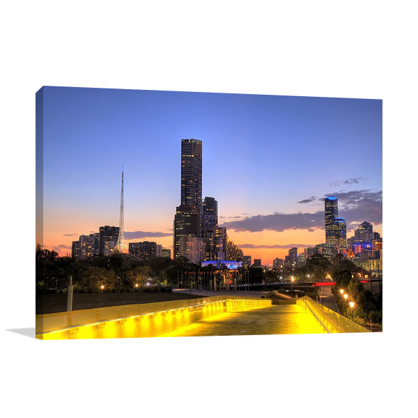 Canvas Print | Melbourne City Australia