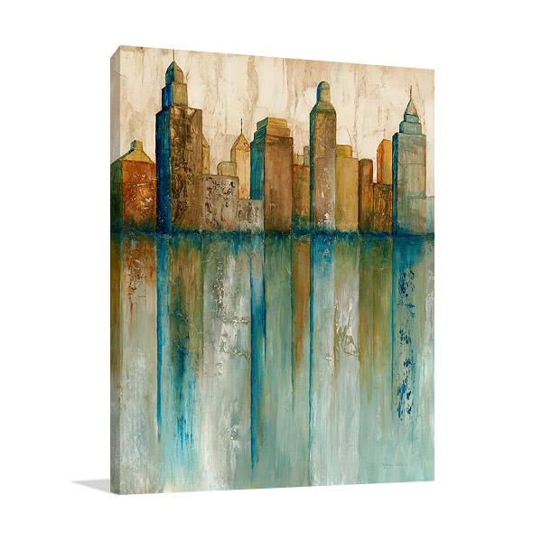 City View I | Canvas Art Print
