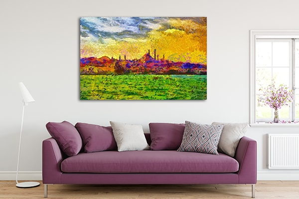 Cityscape Print Artwork