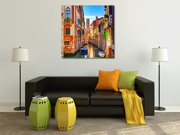 Cityscape Print Art Canvas on the Wall