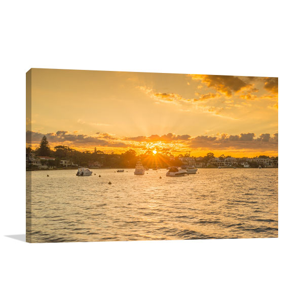 Claremont Jetty Art Print Sunrise