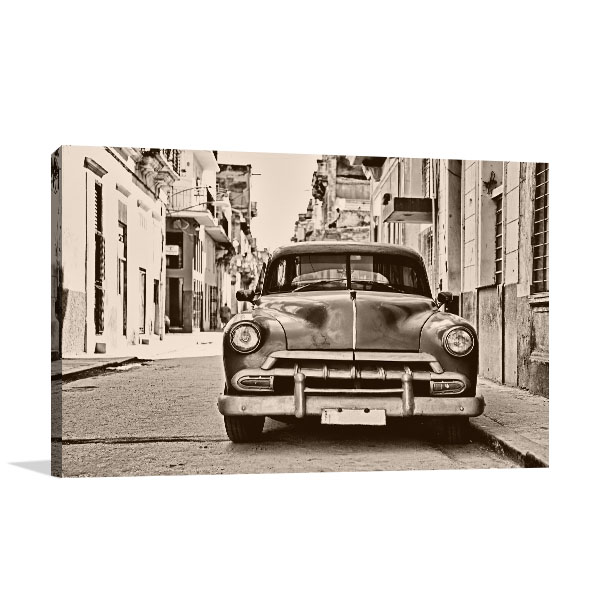 Classic American Car Canvas Art Prints