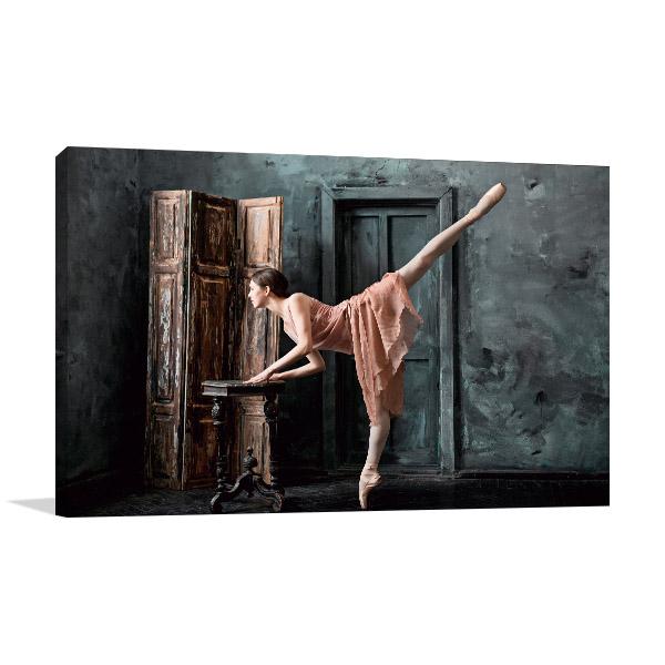 Classic Ballerina Canvas Art