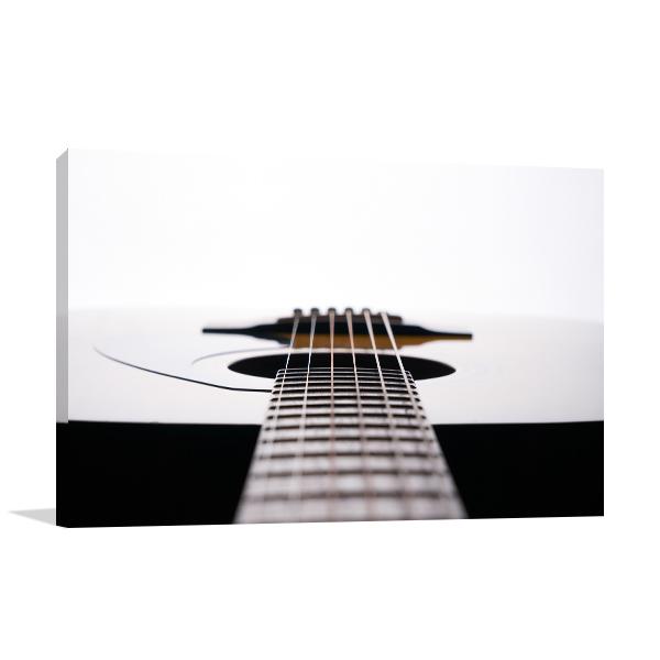 Classic Guitar Canvas Art