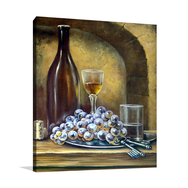 Classic Still Life Print Artwork