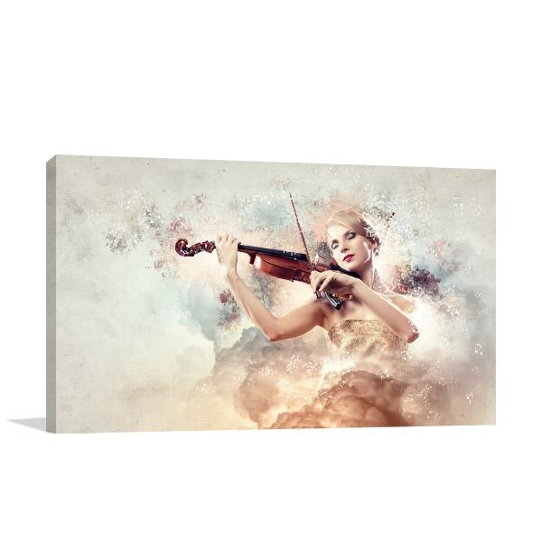 Classic Violinist Wall Art