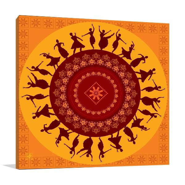 Classical Dancers Print Artwork