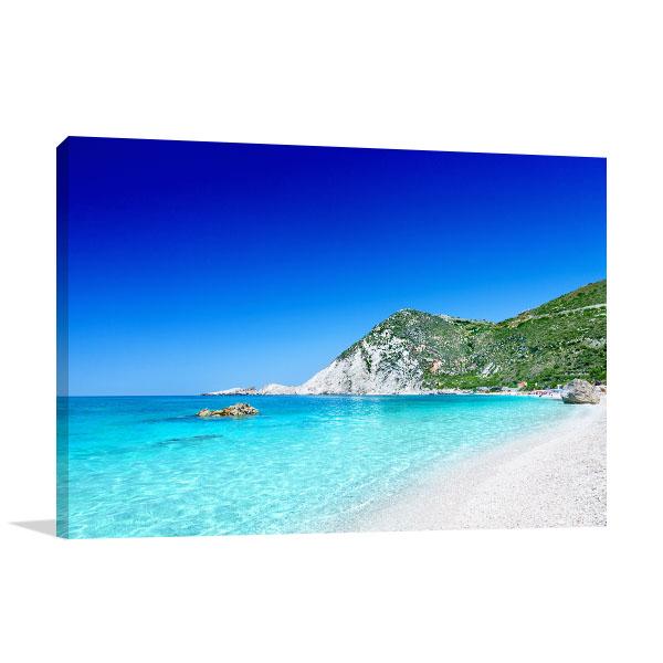 Clear Blue Beach Artwork