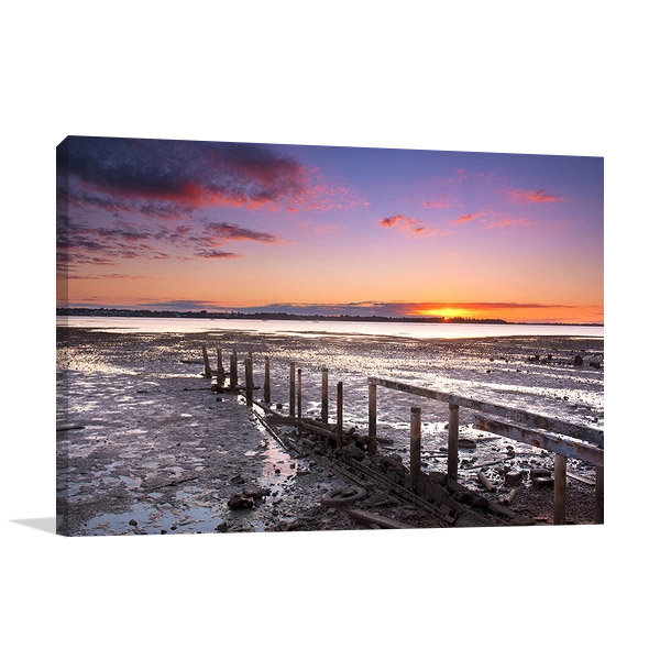 Print on Canvas | Cleveland Pier Brisbane