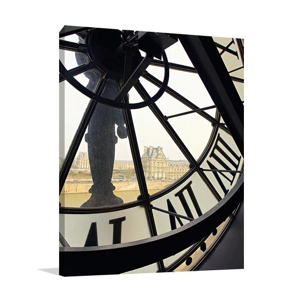 Clock of Orsay Museum Print