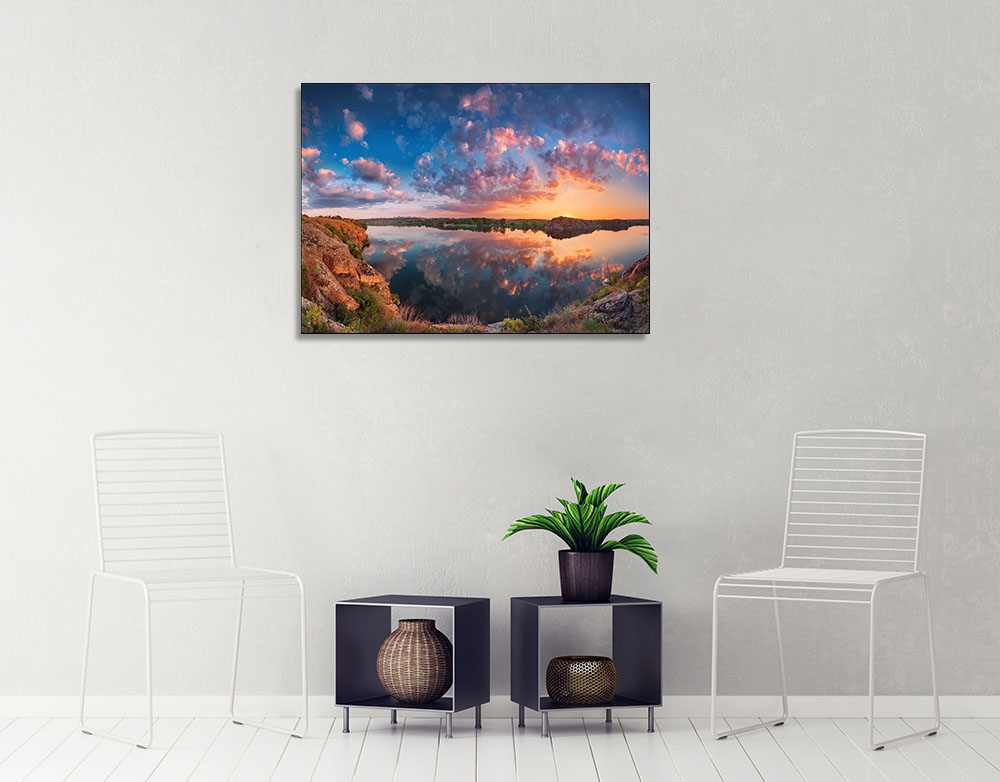 Sky Sunset Canvas Art Print