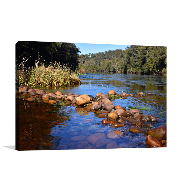 Clyde River Art Print Shallow Crossing