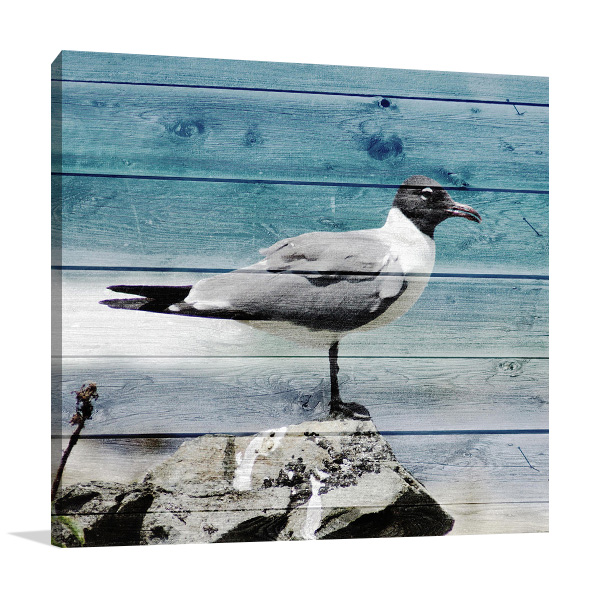 Coastal View Wall Art Print