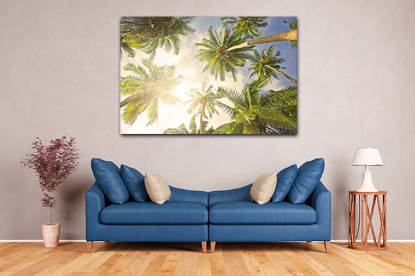 Coconut Tree Prints Canvas