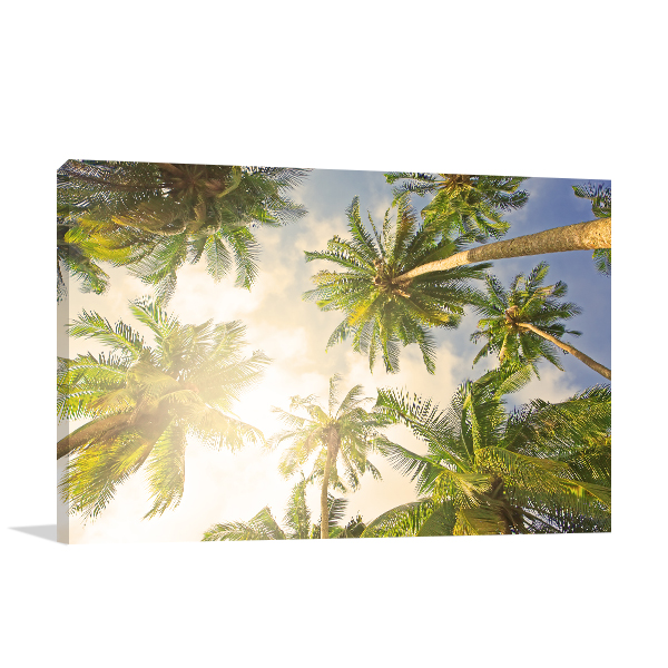 Coconut Tree Wall Art